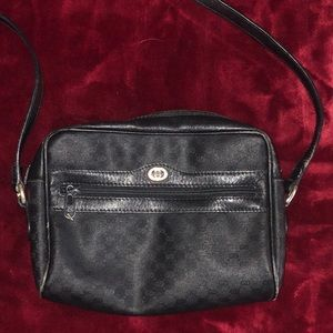 Vintage Gucci Crossbody Purse Bag Backpack